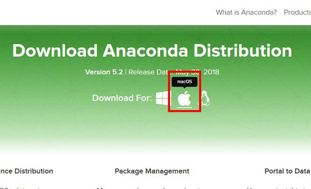 mac版Anaconda
