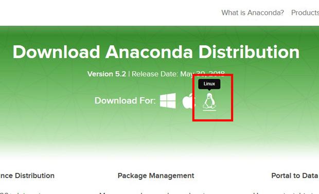 Linux版Anaconda